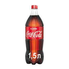 <b>Напиток</b> газированный, Coca-Cola, <b>1.5</b> л, Россия - купить c ...
