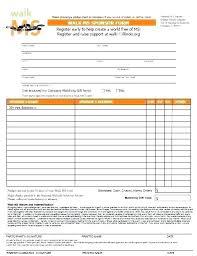Fundraiser Pledge Form Template Sponsor Sheets For Fundraising Donation Pledge Form Template Excel