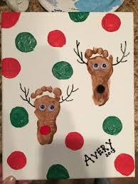 Best 25 Footprint Crafts Ideas On Pinterest  Footprint Art Baby Christmas Crafts With Babies