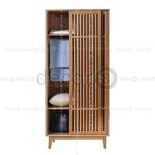 innsbruck solid oak wood wardrobe with sliding doors