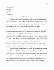 how to start a reflective essay  image result for how to start a reflective essay