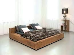 Low Floor Bed Design With Storage Low Platform Bed Frame Profile ...