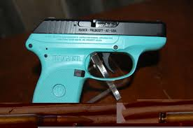 ruger nib lcp 380 acp turquoise tiffany blue talo picture 2