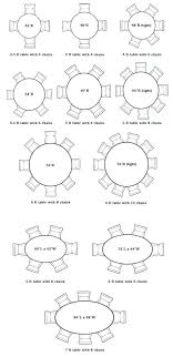 size of round table for 8 rounds superb round foyer table as round table size for size of round table