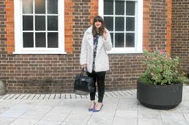 cream faux fur coat primark similar fl silky longline shirt boohoo black skinny jeans new look similar cobalt blue studded heels dorothy