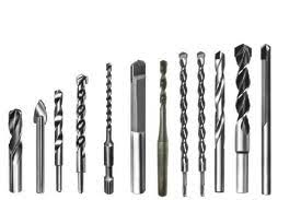 different types of drill bits. different types of metal used to make drill bits