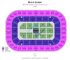 Bi Lo Center Seating Chart