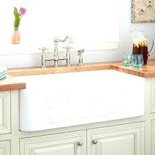 farmhouse sink ivy offset double bowl polished marble white kitchen 27 inch latoscana f kitchen sinks beautiful inch farmhouse