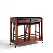 Table And Stools For Kitchen Kitchen Room Drop Leaf Breakfast Table Stools Kitchen Cart