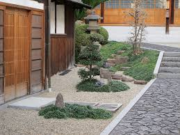 of rocks are used in japanese gardens