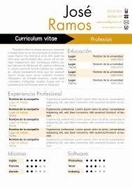 modelo curriculum google docs resume templates best of vitae modelo place 4 colores
