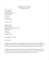 Company Termination Letter Enchanting 48 Sample Contract Termination Letters Sample Templates