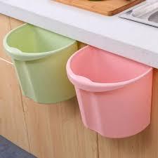 kitchen trash bin cabinet door hanging sundries bucket