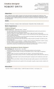Creative Designer Resume Samples Qwikresume