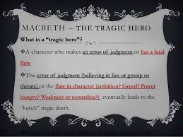 macbeth tragic hero madman macbeth the tragic hero