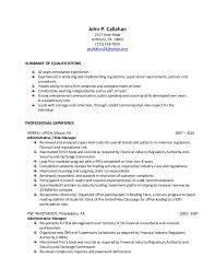 ... Risk and Compliance Analyst Resume. John P. Callahan 2317 Avon Road  Ardmore, PA 19003 (215) 518- ...