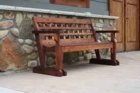 rustic garden furniture. Rustic Garden Cedar Bench Furniture R