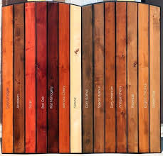 Cedar Wood Stained Grey Stain Color Deck Colors Chart