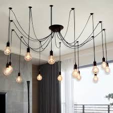 office light fixtures. Edison Chandelier Morden Creative Light Bulbs Pendant Loft Office Antique Bar Living Room Fixture Best Lights Fixtures