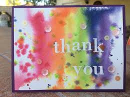 Watercolor thank you cards Diy Watercolor How To Make Watercolor Thank You Card Snapguide How To Make Watercolor Thank You Card Snapguide
