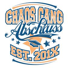 Abschlussmotiv Chaos Gang Abschluss 1497 Auf Deinem Abschluss