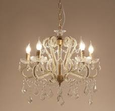 chandeliers gorgeous garwarm 5 lights vintage crystal chandeliers