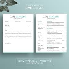 Resume Template Free Creative Modern Cv Word Cover In 93 Modern