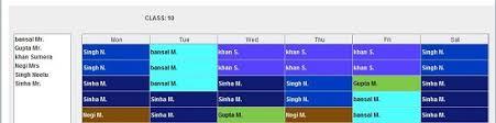 Online Timetable Generator Timetable Web