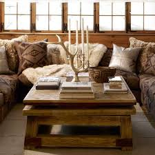 Wood Furniture And Home Fabrics For Winter Decorating