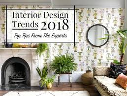 2018 decorating trends living