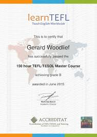 What Is Course Completion Certificate Dr Woodlief Tefl Course Completion Certificate