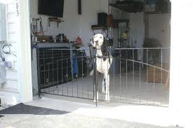 garage door pet gates interior pet gates as a specialty fence find useful around your home garage door