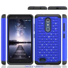 htc zmax pro. cool for zte zmax pro z981 metropcs htc desire 530 bling diamond starry rubber pc case + silicone hybrid armor rhinestone phone cover cell covers c