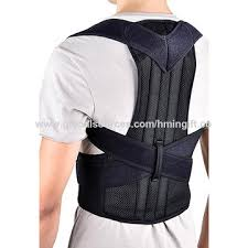 China posture corrector,back brace,back adjustable belt Adjustable Back Brace Posture Support Shoulder