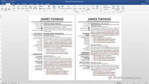 Good Resume Example Mesmerizing Resume Template With A Cover Letter And References Template Get A