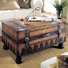 Heritage Trunk Coffee Table ashley furniture overstock 1