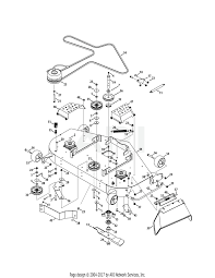 Cub cadet mower deck parts diagram cub cadet parts diagrams cub cadet z force s 48