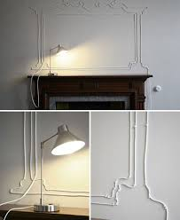 how to hide wires on wall modern 20 simple and ingenious diy projects that will your into in 6