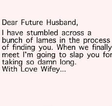 Future Husband Quotes Magnificent Quotes For Future Husband What's Your Expectation EnkiQuotes