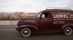 Original Barn Find 1946 Chevy Panel Truck - French's Lionel Train ...