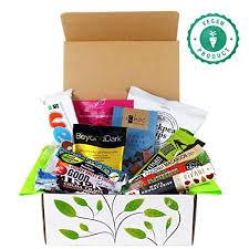 vegan chocolate and snack treat her gift box