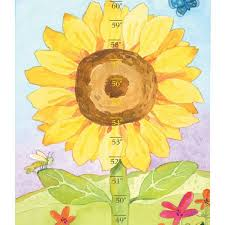Sunflower Growing Chart Growing Like A Sunflower Growth Chart