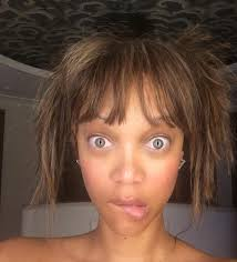 barefaced beauties celebrities without makeup tyra banks