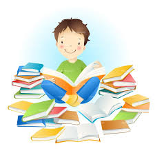 Image result for students reading clipart