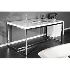chrome office desk. Attractive White Desk Design Cm High Gloss Chrome Base Home Within Office Y