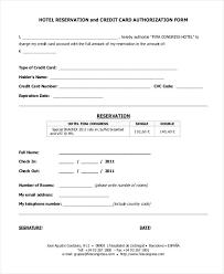 Hotel Reservation Form Template Hotel Registration Forms Best Of ...