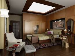 Modern Bedroom Art Bedroom With Art Deco Interior With Wooden Panel And Furniture And