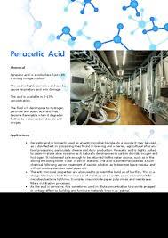 Pumping Peracetic Acid