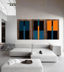 handmade 3 panel art wood wall