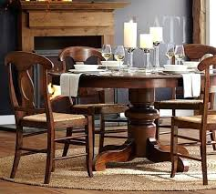 round table with chairs that fit under extending pedestal dining table table chairs fit